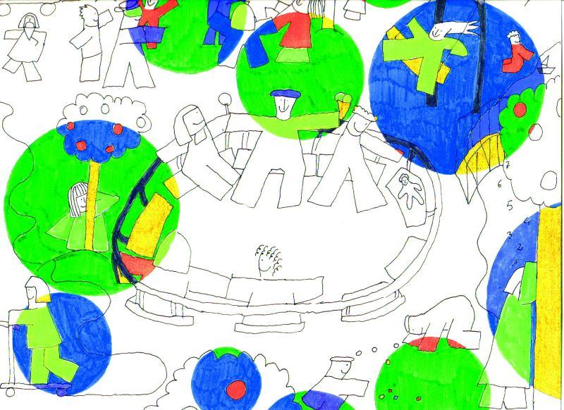 Giochi bimbi verde